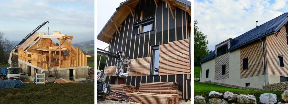 Gite Etoile Boréale - travaux de reconstruction